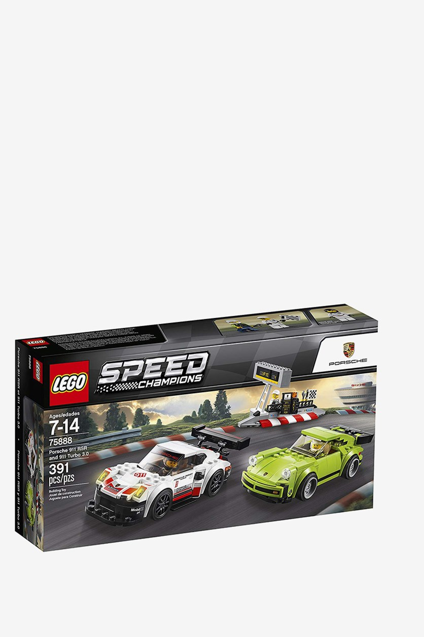 Speed Champions Porsche And Turbo 3.0 Building Kit, Combo