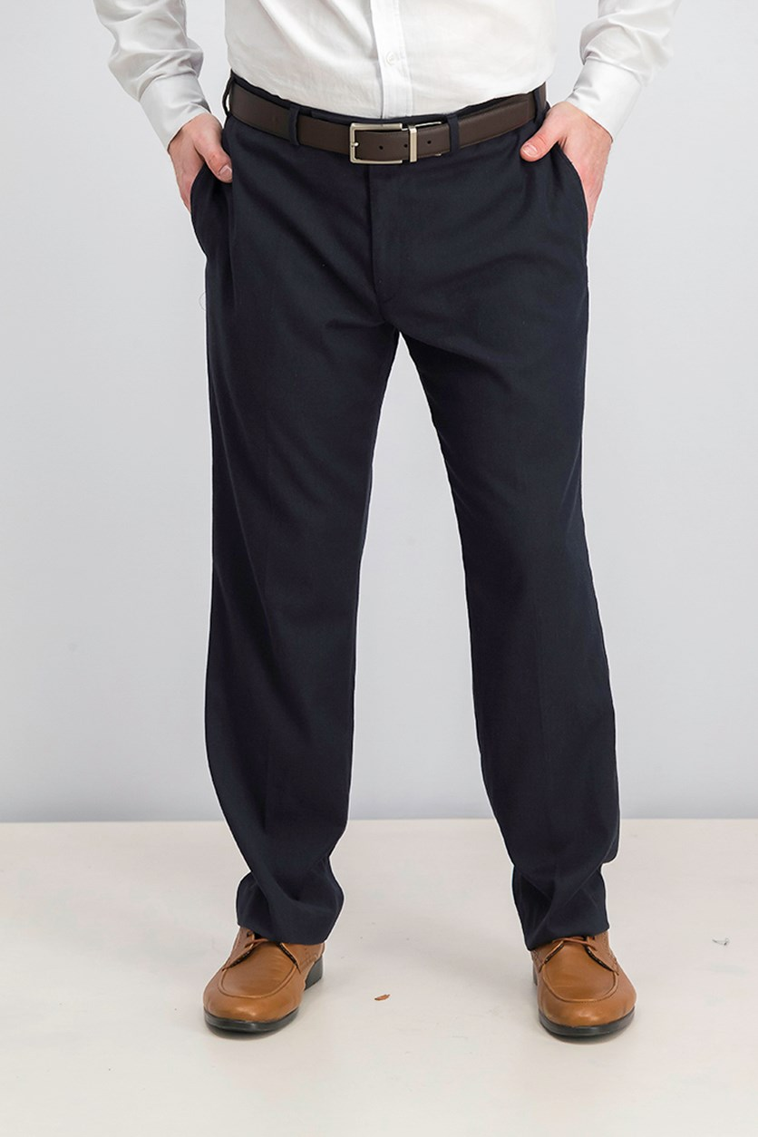 Covert Stretch Twill Dress Pants, Navy