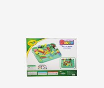 Crayola Dough Fun Dough Art Desk Playset, Green Combo