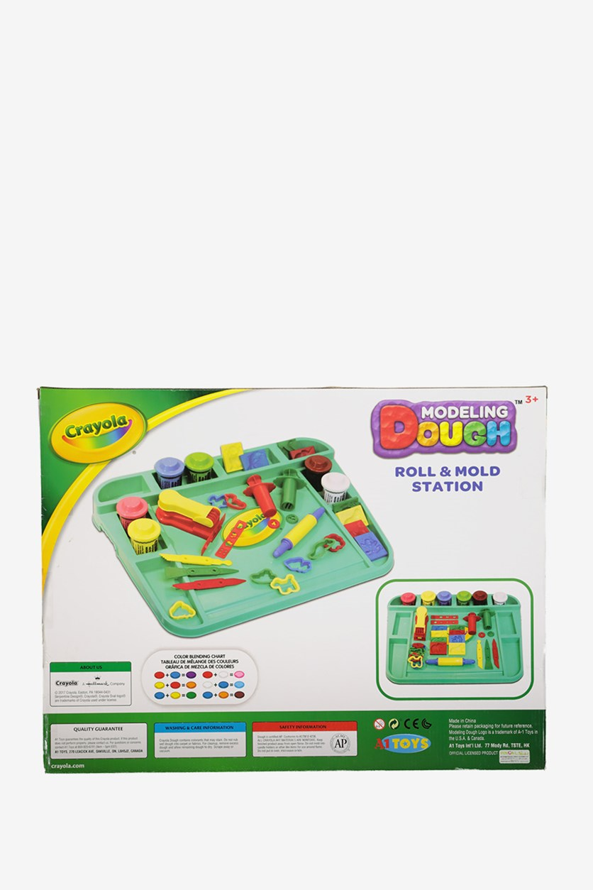 Dough Fun Dough Art Desk Playset, Green Combo