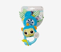 Little Tikes Toddlers Jitter n Whirl Monkey Toy, Blue