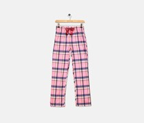 Max & Olivia Big Girls Printed Pajama Pants, Pink/Blue