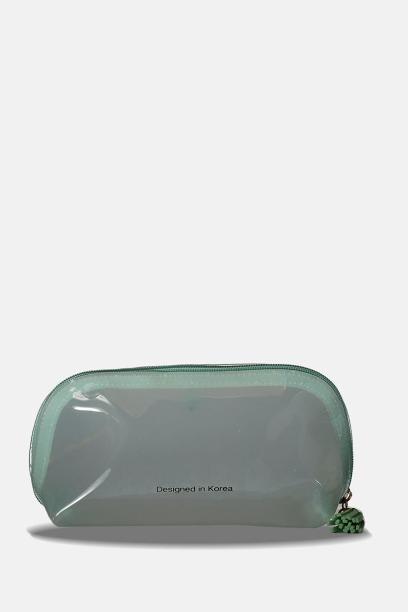 Cute Jelly Cosmetic Bag, Mint