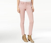 American Rag Women's Colored Wash Super-Skinny Jeans, Pink