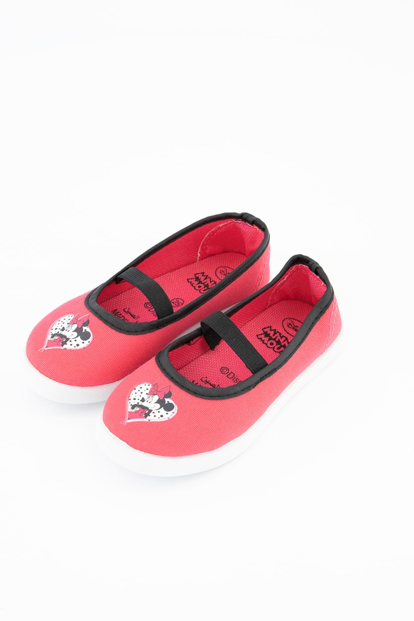 Toddlers Mickey Mouse Shoes, Pink Combo