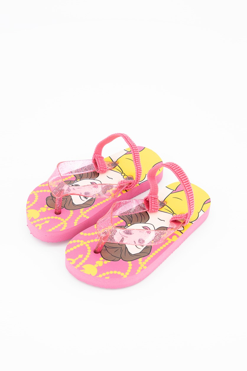 Disney Toddlers Disney Princess Slippers, Pink Combo