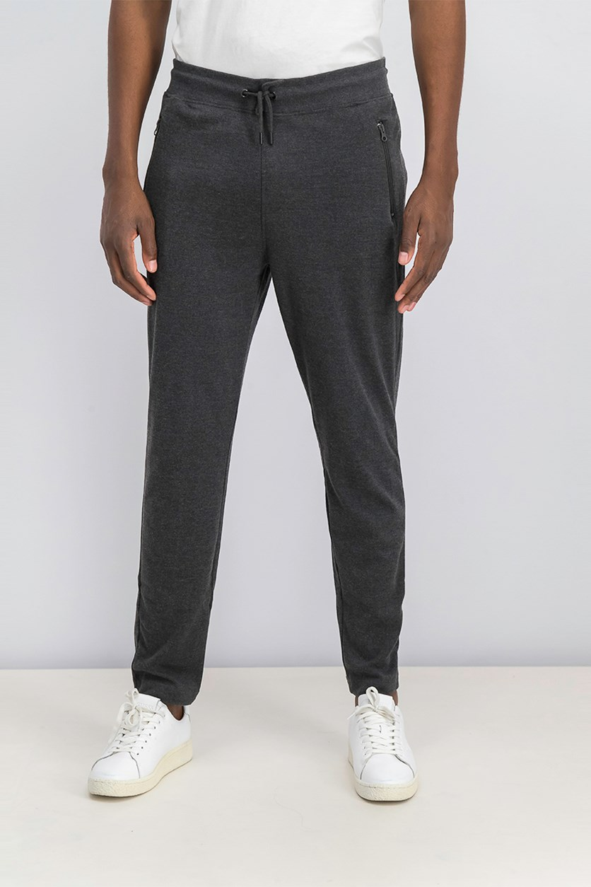 Men's Gannon Jogger Pants, Charcoal Heather