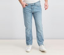 Men's Ian Semi Jeans, Light Blue