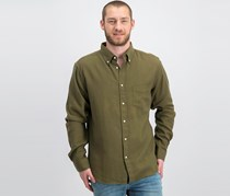 Gant Rugger Textured Casual Shirt, Olive Green