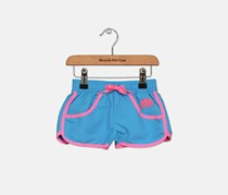Sundek Little Girl's Mini Lora Borad Short, Blue