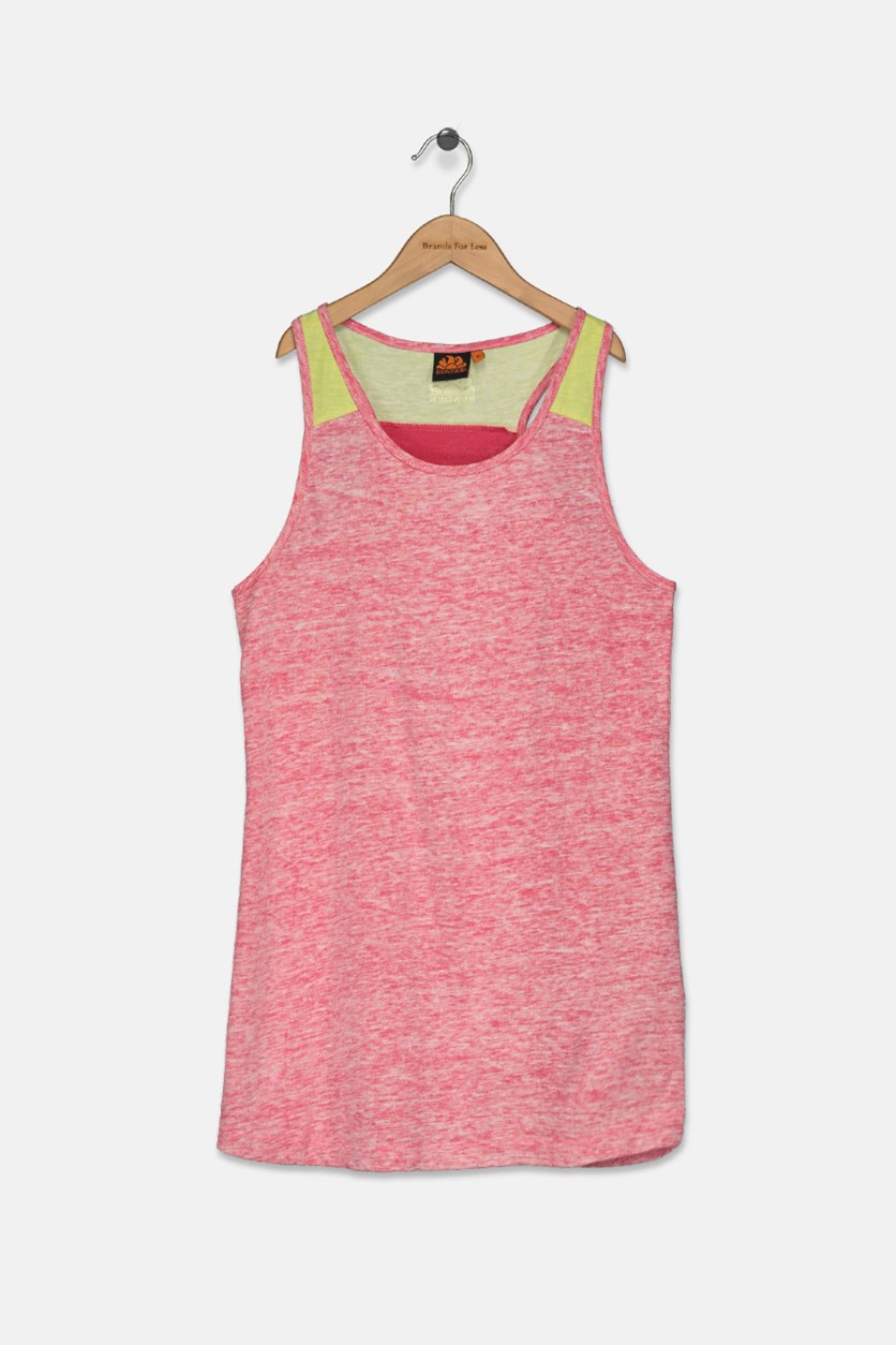 Kids Girl's Mini Miranda Dress, Cotton Candy