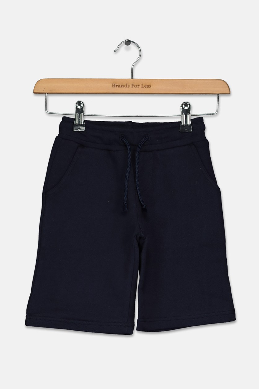 Little Boy's Mini Travis Walkshort, Navy