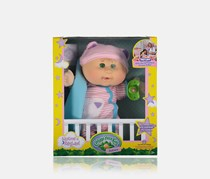 Cabbage Patch Grace Camile Babies Dolls, Green Eye/Pink/Blue