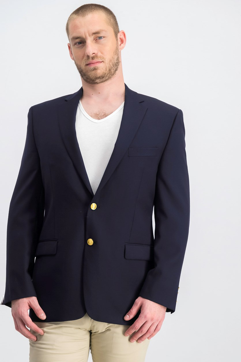Men's Total Comfort Blazer, Navy