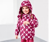 Toddler Girl's Thermal Rain Jacket, Pink
