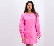 Women's Mango Longsleeve Casual Dress, Pink