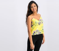 Women's Mango Embellished Top, Yellow