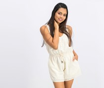 Pepe Jeans Women's All In One Mansi Playsuits, Ivory