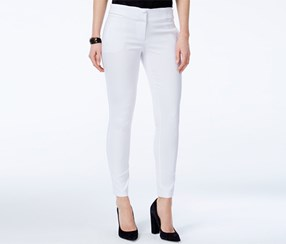 Xoxo Women's' Natalie Skinny Pants, White
