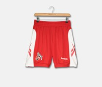 Reebok Boys Embroidery Short, Red/White