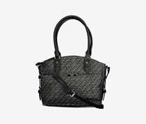 Jones New York Women's Felicity Satchel Bag, Black