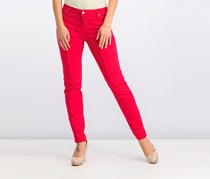 Celebrity Pink Juniors Colored Skinny Jeans, Tango Red