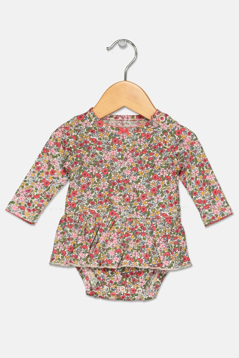 Carter's Baby Girls 2-Pieces Floral-Print Set, Pink/Navy