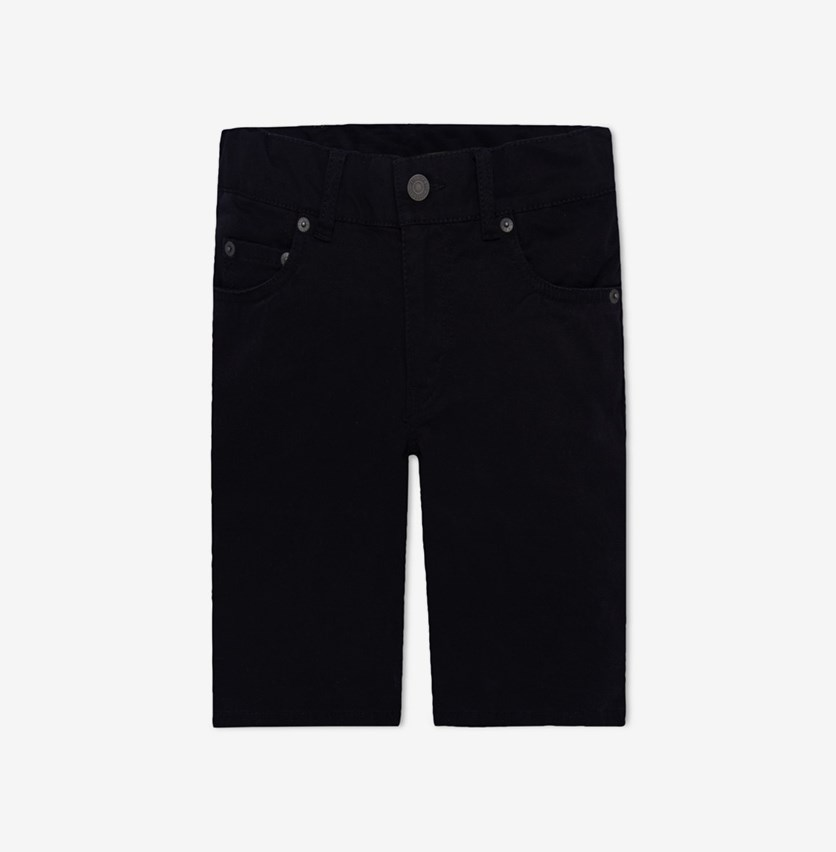 Boys 511 Sueded Shorts, Black