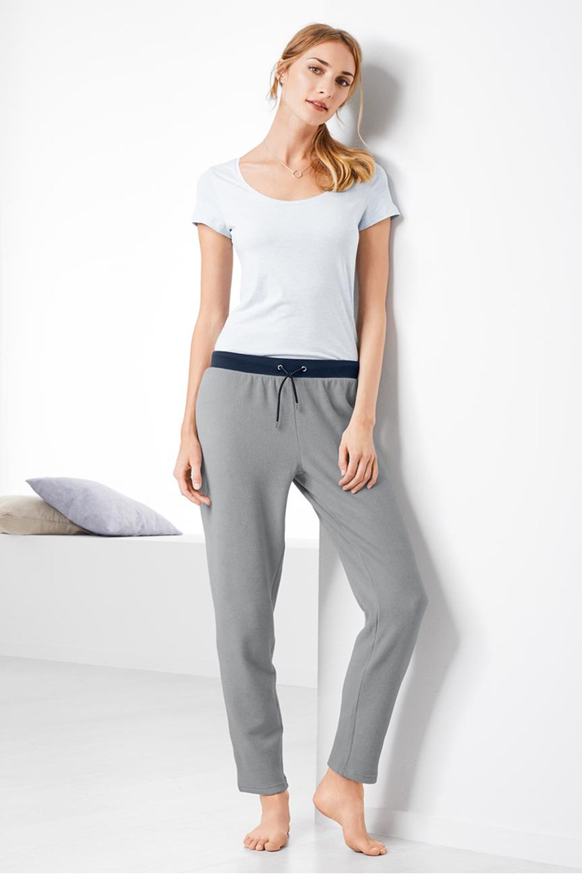 Women's Fleece Trousers, Grey