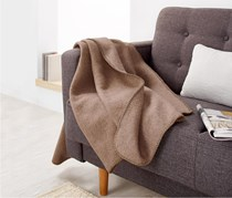 Snuggle Blanket, Brown (150x130cm)