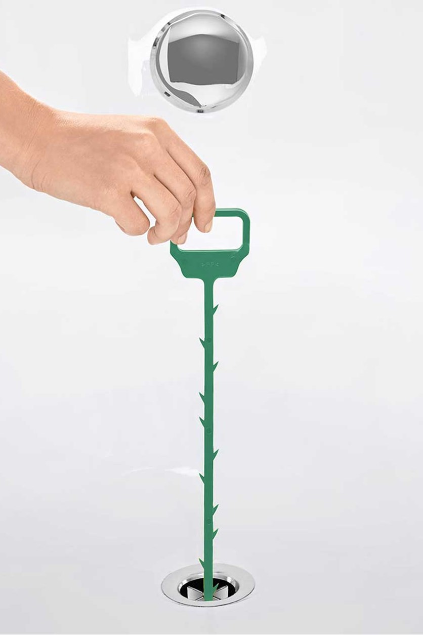 Drain Cleaners Set of 2, Green