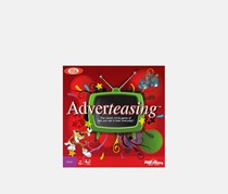 Ideal Adverteasing Trivia Board Game, Red Combo