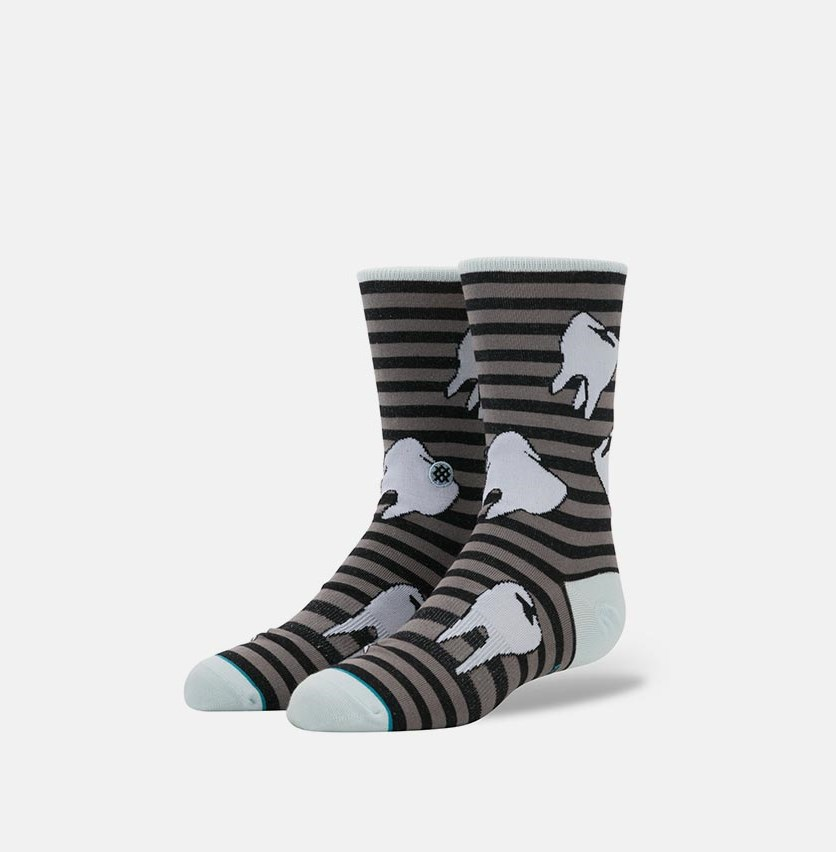 Boy's Tooth-Hurty Socks, Black Combo