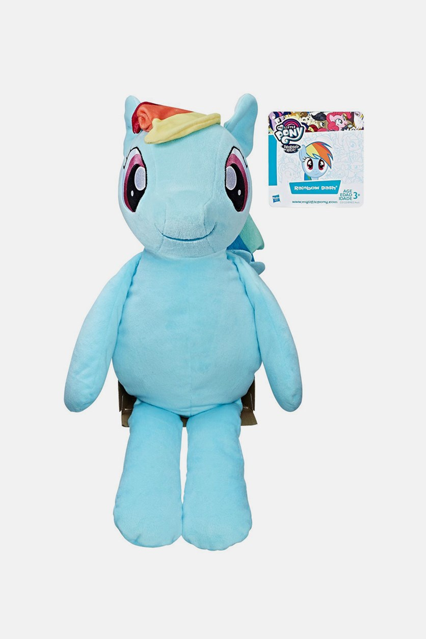 My Little Pony Friendship Is Magic Rainbow Dash Huggable Plush, Blue
