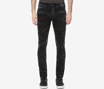 Men's Super Max-X Skinny Fit Jeans, Black