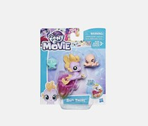 My Little Pony the Movie Baby Seapony Sun Twist, Purple/Pink Combo
