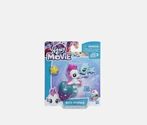 My Little Pony the Movie Baby Seapony Sea Poppy, White/Purple