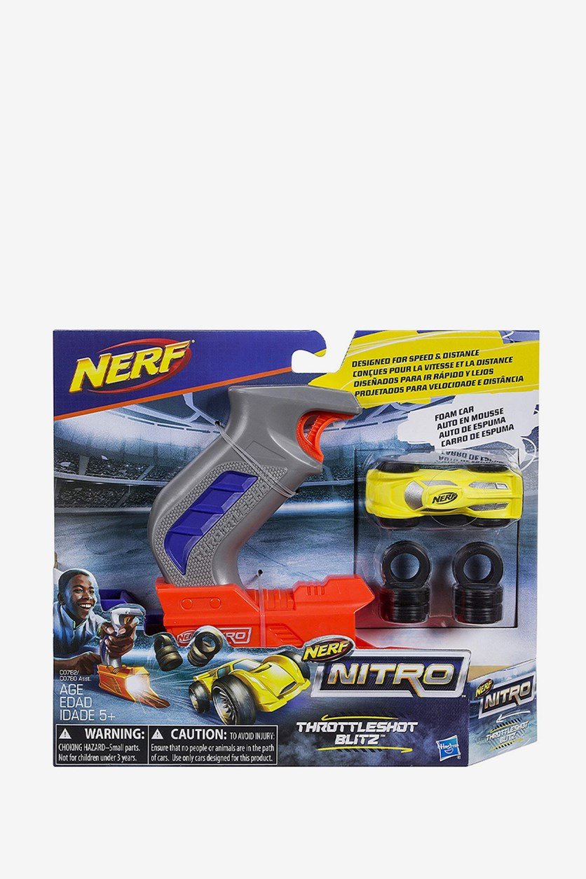 Nitro Throttle Shot Blitz, Gray/Orange