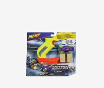NERF Nitro ThrottleShot Blitz, Light Green/Orange