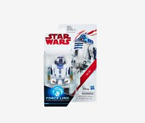 Star Wars R2-D2 Force Link Figure, White/Blue