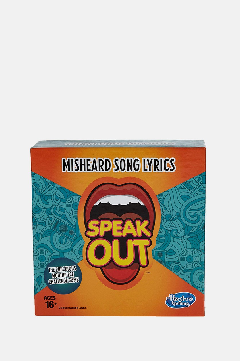 Gaming Speak Out Expansion Pack: Misheard Song Lyrics, Orange/Green