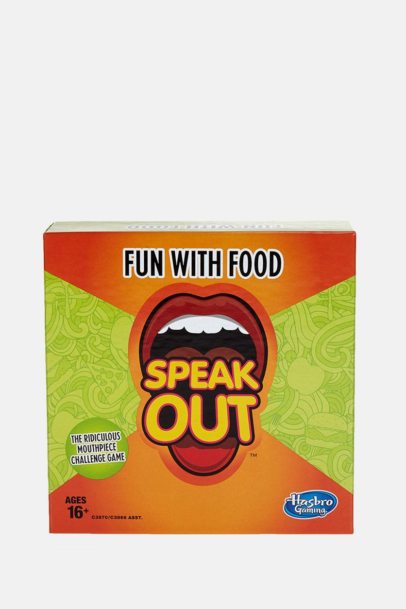 Gaming Speak Out Expansion Pack: Fun With Food, Green/Orange