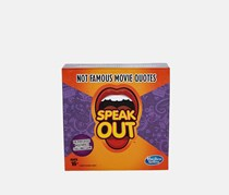 Hasbro Gaming Speak Out Expansion Pack: Not Famous Movie Quotes, Purple