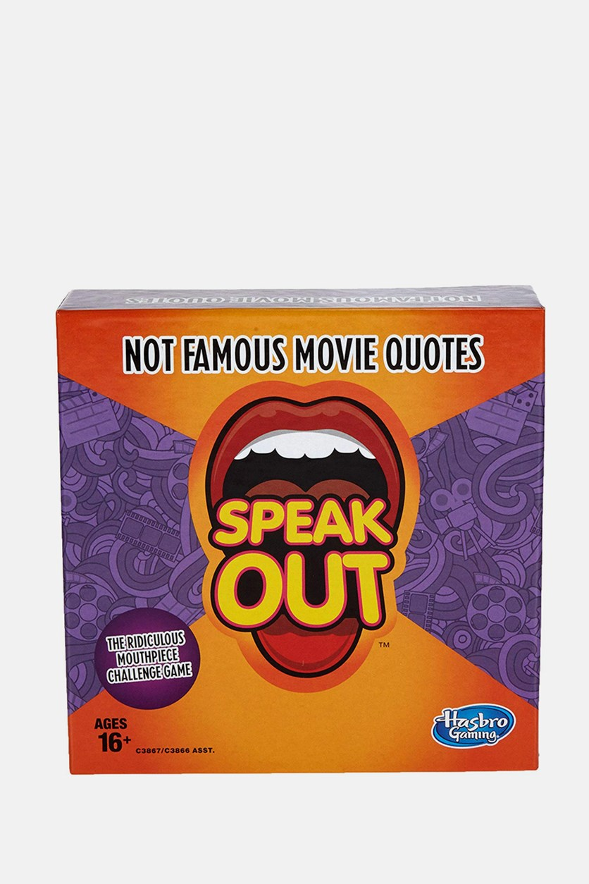 Gaming Speak Out Expansion Pack: Not Famous Movie Quotes, Purple