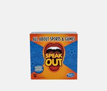 Hasbro Gaming Speak Out Expansion Pack: All About Sports and Games, Blue