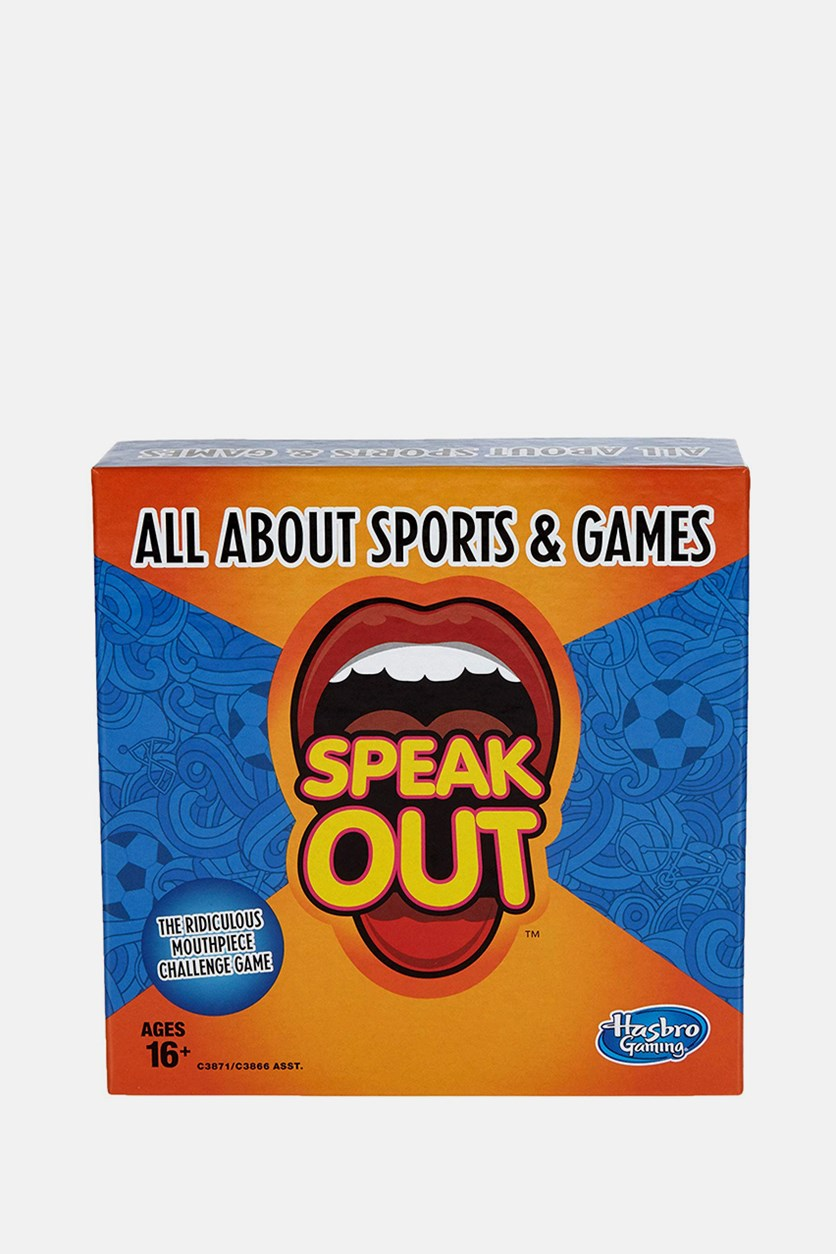 Gaming Speak Out Expansion Pack: All About Sports and Games, Blue