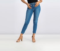 Just Black Women Skinny Jeans, Blue