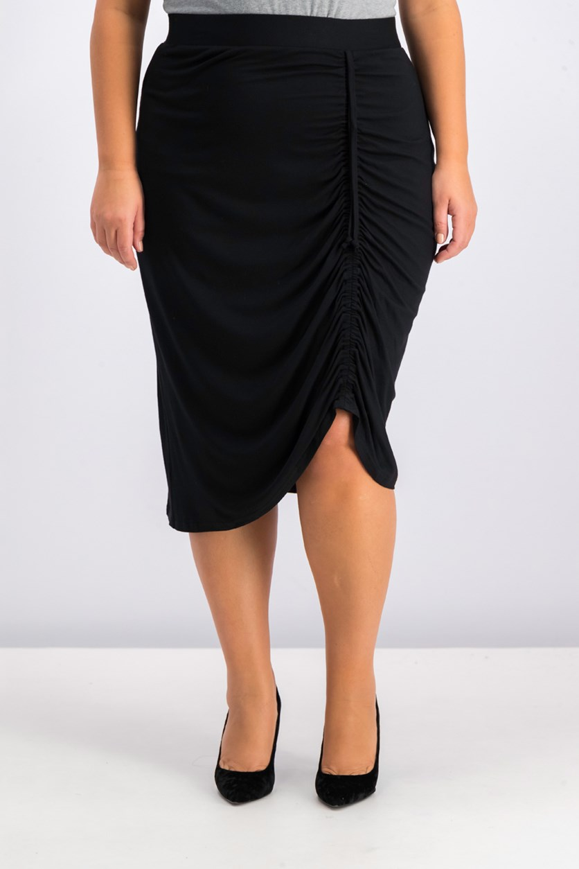 Women's Plus Size Skirt, Black
