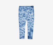 Splendid Toddler Girl's Tie Dye Leggings, Blue