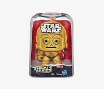 Star Wars Mighty Muggs C-3PO Action Figure, Gold